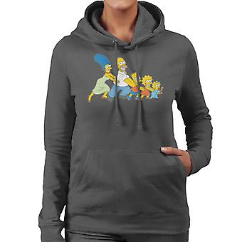 The Simpsons All Together Now Women's Hooded Sweatshirt