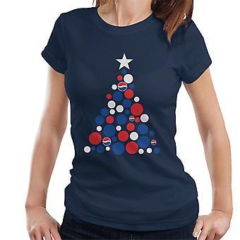Pepsi Weihnachtsbaum Dots Frauen's T-Shirt