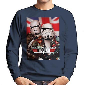 Original Stormtrooper Top Trooper Parody Men's Sweatshirt
