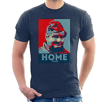 TV keer Benny Hill Home Guard mannen T-Shirt