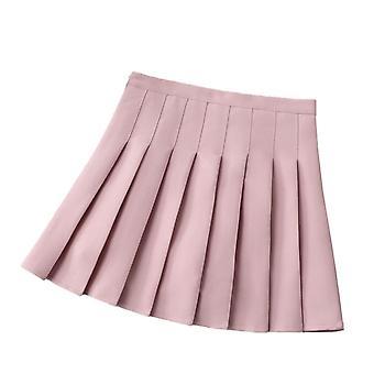 נשים ' s מותניים קפלים משחק טניס מזדמנים בסגנון מיני מחליק חצאית