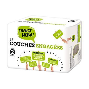 T2 Engaged Diapers (3-6kg) 36 units