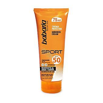 Babaria SPF50 Sport Sunscreen Cream 75 ml of cream