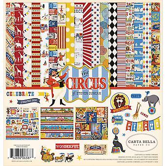 Carta Bella Circus 12x12 Tuuman Collection Kit