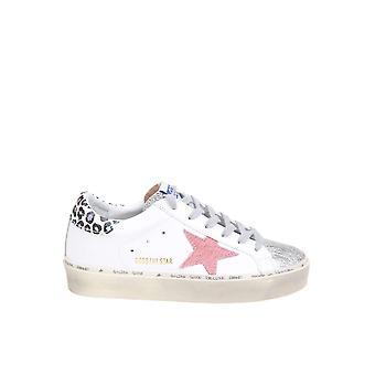 Golden Goose Gwf00118f00017980201 Kvinnor's vita läder sneakers