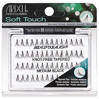 Ardell Duralash Soft Touch Knot Free Tapered Lashes - Medium Black - Lightweight
