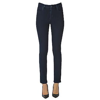 Atelier Cigala's Ezgl457018 Women's Blue Cotton Jeans