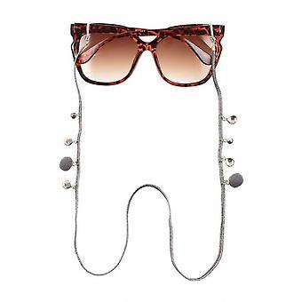 Brillenband Unisex  75 cm silber (CWI1711)