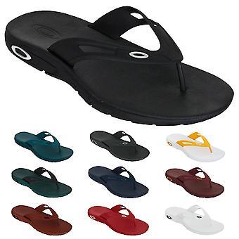 Oakley Herre ellipse flip flop komfort holdbare sandaler