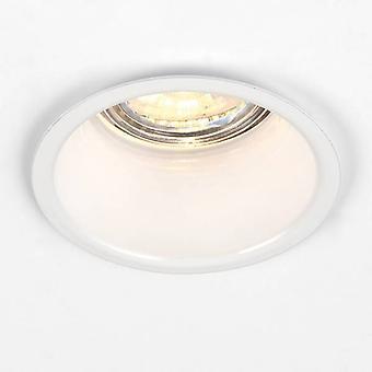 1 Light Recessed Light Gloss White, GU10