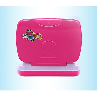 Russian Language Children's Interactive Tablet Computer Learning Toys Learning&educational Laptop Toys Pink And Blue