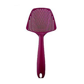 1pcs Nylon Strainer Scoop Colander - Drain Veggies Wasser Scoop tragbare Haus Kochwerkzeuge