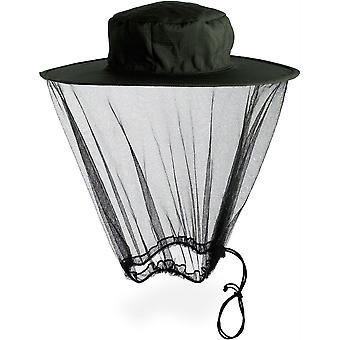 Lifesystems Midge / Mosquito Head Net Hat Black