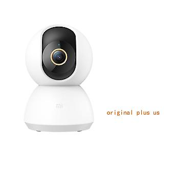 1296p Ultra Hd 2k Smart Ip Camera Wifi Pan-tilt Night Vision 360 Angle Video Webcam Baby Security Monitor