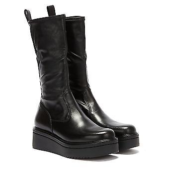 Vagabond Tara Leather Long Womens Black Boots
