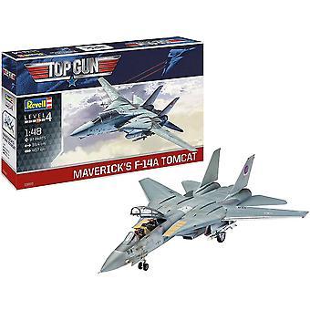 F-14A Tomcat Top Gun 1:48 Schaal Niveau 4 Revell Model Kit