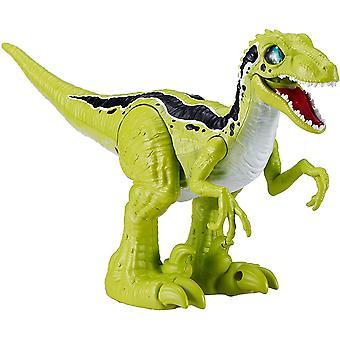 Robo Alive Rampaging Raptor Dinosaur Green