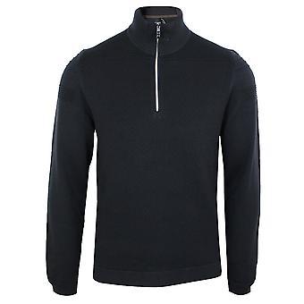 Hugo boss men's zomin navy sweatshirt
