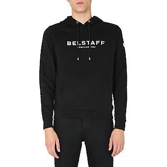 Belstaff 71130675j61n013309100 Men's Moletom de Algodão Preto