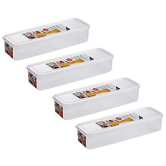 Air-tight food storage container group, moisture-proof and mildew-proof kitchen food storage box