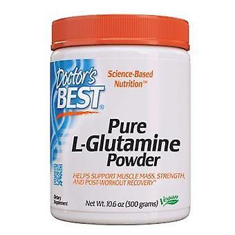 أفضل الأطباء L-الجلوتامين مسحوق، 300 غرام