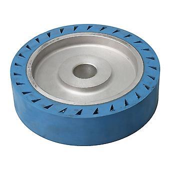 32mm Inner Diameter Cintura Grinder Ruota di gomma Ruota piatta Ruota a contatto 20x5cm