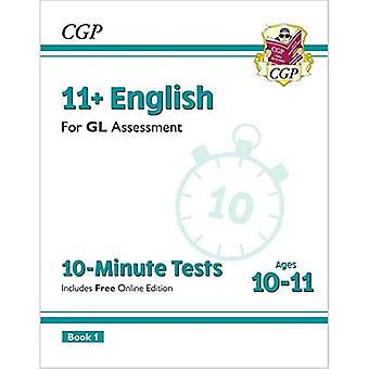 New 11+ GL 10-Minute Tests: English - Ages 10-11 Book 1 (with Online Edition)