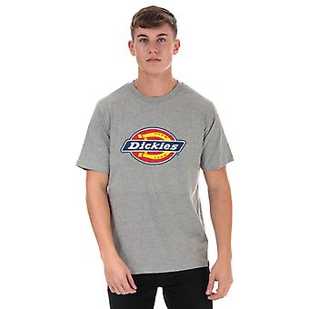 Men's Dickies Horseshoe T-Shirt in Grey