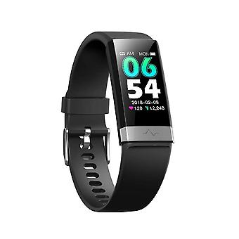 Activity bracelet with heart rate, blood pressure, blood oxygen Black