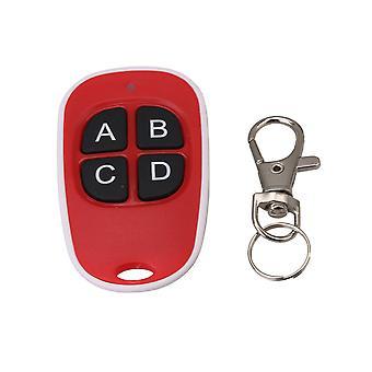 Universal Rolling Gate Remote Control Copy Code Key Rosso 4 pulsanti 433MHZ