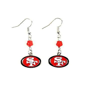 San Francisco 49ers NFL Sophie Style boucle d'oreille