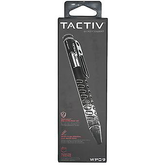 Keysmart Tactiv Bolt Action Premium Waterproof Pen - Black