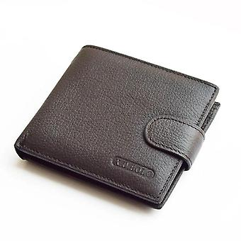 Genuine Cow Leather Wallets With Coin Pocket Purse