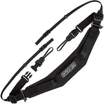 OP/TECH 6501011 Reporter Strap for Camera - Black