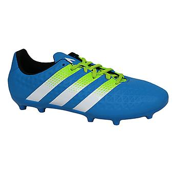 Adidas Ace 16.3 FG/AG Junior Boys Lace Up Blue Football Boots AF5156 B44A