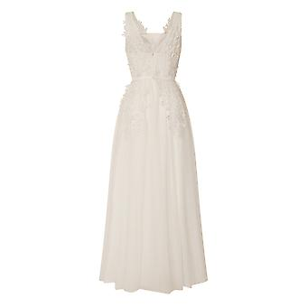 Little Mistress Womens/Ladies A-Line Applique Bridal Dress