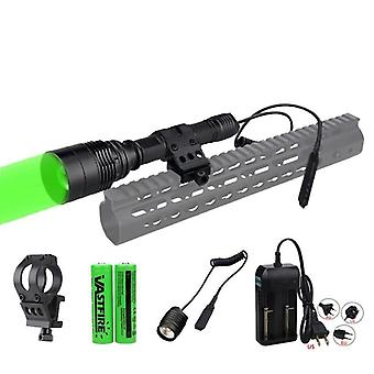 Tactical Airsoft Hunting Flashlight + Rifle Scope
