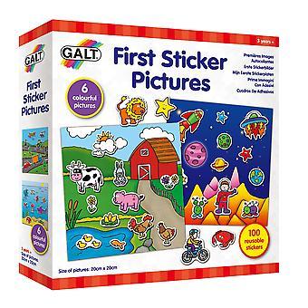 Galt zabawki pierwsze zdjęcia naklejki