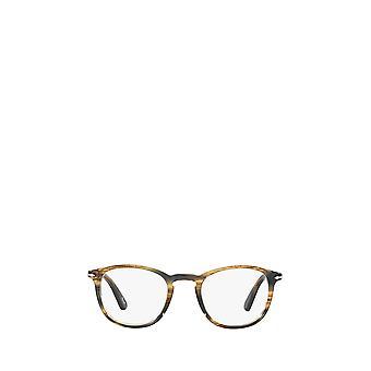 Gafas De ojos Persol PO3143V de color marrón gris verdoso unisex