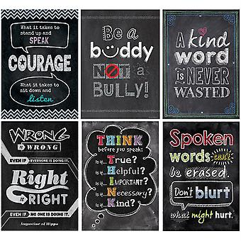 Inspire U No Bullying Allowed Poster Pack, 6 Affiches