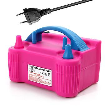 Double Hole Air Balloon Pump, Portable Inflatable Electric Inflator