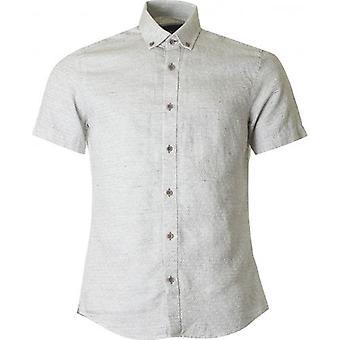 Remus Uomo Textured Short Sleeved Shirt
