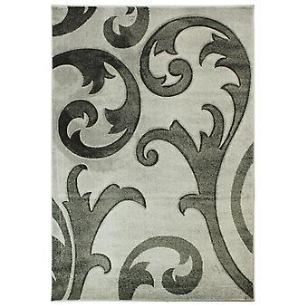Handgeschnitzte entziehen Teppiche In grau
