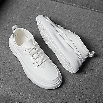 Men& apos;s أحذية رياضية جلدية عادية، أحذية رياضية ترفيهية للمشي لمسافات طويلة