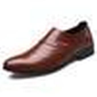 Men Office Wedding Leather Casual Shoe.