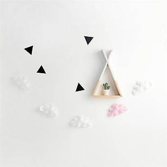 Felt Cloud Garland String Wall Hanging Ornaments Nordic Baby Bed Kids
