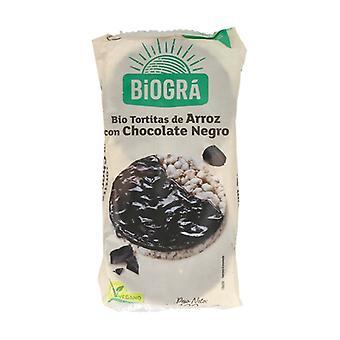 Organic Black Chocolate Rice Cakes 100 g