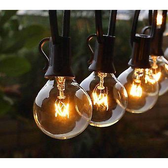 Patio String Light Christmas Globe Festoon -lamppu