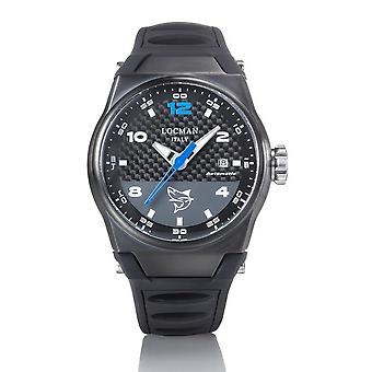 Locman Wristwatch NUOVO MARE 0556K09S-BKCBSKSK
