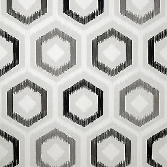 Ikat geometrisk tapet Mono Arthouse 296801